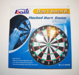 Dart Board 30cm - double-side si 4 sageti
