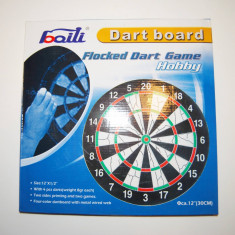 Dart Board 30cm - double-side si 4 sageti