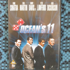 OCEAN'S 11 (originalul din 1960, sub. Romana) - 1 DVD ORIGINAL FILM - CA NOU!!!