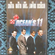 OCEAN'S 11 (originalul din 1960, sub. Romana) - 1 DVD ORIGINAL FILM - CA NOU!!! - Film actiune