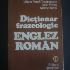 Dictionar frazeologic englez roman Altele