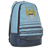 Ghiozdan Team Manchester City - Anglia - H42 x W38 X D20 cm - Detalii in anunt, Unisex, Albastru