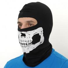 Cagula craniu neagra Tip A [Elite Airsoft] - Echipament Airsoft