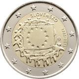 REDUCERE - Drapelul UE - Slovacia moneda comemorativa 2 euro 2015 - UNC, Europa