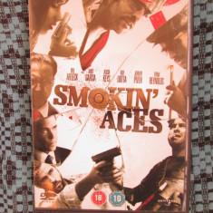 SMOKIN' ACES - 1 DVD ORIGINAL FILM - CA NOU!!!, Engleza