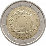 REDUCERE - Drapelul UE - Slovenia moneda comemorativa 2 euro 2015 - UNC, Europa