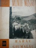 Rarau si Giumalau (10) - cu harta - Ed. ONT CARPATI