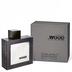 Dsquared2 He Wood Silver Wind Wood EDT 50 ml pentru barbati - Parfum barbati Dsquared2, Apa de toaleta