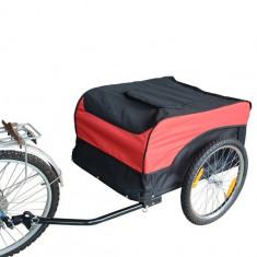 Remorca de bicicleta pentru transport volum transport cca 160 litri - Remorca bicicleta