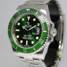 Ceas Luxury Rolex Submariner Green Dial Edition Barbati EST replica 1:1|GARANTIE - Ceas barbatesc Rolex, Lux - elegant, Quartz, Inox, Analog, Nou