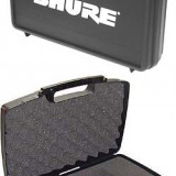 PROMOTIE!CASE/VALIZA PROFESIONALA MARCA SHURE PENTRU MICROFOANE SHURE, AKG, ETC.. - Microfon