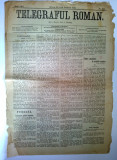 Ziar antebelic TELEGRAFUL ROMAN  Nr. 108 Sibiu 1913 - anunturi, reclame
