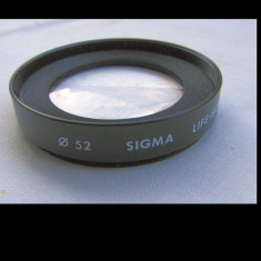 Lentila aditionala Sigma filet 52 mm