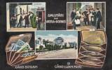 SALUTARI  DIN  VATRA  DORNEI  GARA   SOSIRE  SI  PLECARE  CIRCULATA  1916, Vatra Dornei, Printata