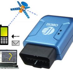 Tracker GPS auto TK206 GSM interfata OBDII localizare urmarire - Localizator GPS