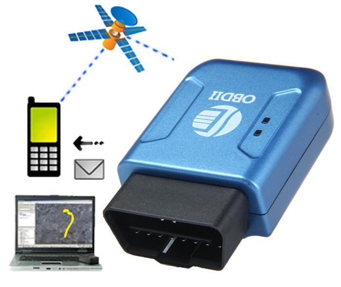 Tracker GPS auto TK206 GSM interfata OBDII localizare urmarire foto mare