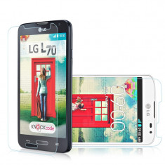 Geam LG L70 D320N Tempered Glass - Folie de protectie LG, Lucioasa