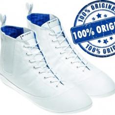 Tenisi dama Adidas Originals Easy Five Hi - tenisi originali - adidasi panza, Culoare: Alb, Marime: 41 1/3, Textil