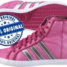 Tenisi dama Adidas Originals Adria Mid Sleek - tenisi originali - adidasi panza, Culoare: Roz, Marime: 40 2/3, Textil