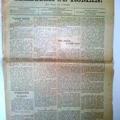 Ziar antebelic TELEGRAFUL ROMAN Nr. 107 Sibiu 1913 - anunturi, reclame