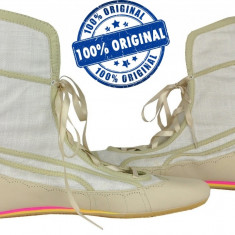 Adidasi dama Puma Parody - adidasi originali - piele naturala - balerini - cizme, Culoare: Din imagine, Marime: 37, 38, 39, 40, 41