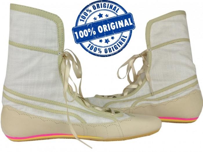 Adidasi dama Puma Parody - adidasi originali - piele naturala - balerini - cizme foto mare