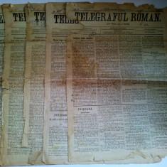 Lot 5 Ziare (deteriorate)TELEGRAFUL ROMAN 1907/ 1913 (RASCOALA - 1907)