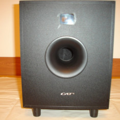 Subwoofer activ CAT DDS 250-II-(un canal defect)
