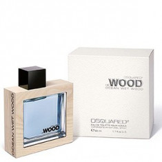 Dsquared2 He Wood Ocean Wet Wood EDT 50 ml pentru barbati - Parfum barbati Dsquared2, Apa de toaleta