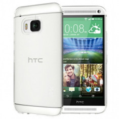 Husa slim transparenta HTC M9 - Husa Telefon ESPERANZA, Silicon, Fara snur