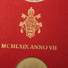 NUMISMATICA-MONEDE STRAINE -CITTA DEL VATICANO-SET 8 MONEDE-DIFERITE-VII, Europa, Nichel