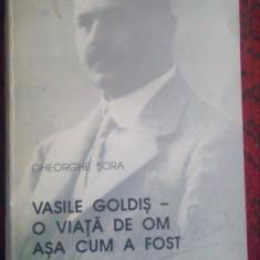 Vasile Goldis-O viata de om asa cum a fost-Gheorghe Sora - Biografie