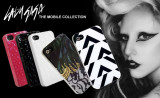 Husa iPhone 4 4S Neagra Lady Gaga, iPhone 4/4S, Negru, Plastic, Apple