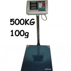 Cantar electronic platforma 500 kg Piata sau Engross Angro TCS