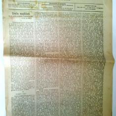 Ziar antebelic TELEGRAFUL ROMAN Nr. 114 Sibiu 1913 - anunturi, reclame