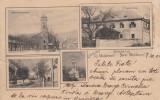 MOLDOVA NOUA , GRUSS AUS NEU-MOLDOWA  CLASICA , CIRCULATA 1904, Printata