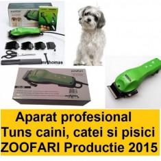Aparat Masina de tuns profesionala animale caini Zoofari original DC-38 - Aparat de tuns animale
