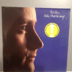 PHIL COLLINS - HELLO, I MUST BE GOING (1982 /WARNER Rec/ RFG) - Vinil/Impecabil - Muzica Rock