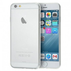Husa slim IPhone 6+ - Husa Telefon, iPhone 6 Plus, Transparent, Silicon, Fara snur