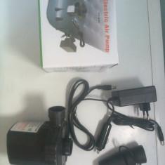 Pompa electrica pentru umflat saltea ! Conectare la priza auto si casa - Compresor Auto