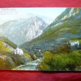 Ilustrata inedita Baile Herculane -Valea Cernei 1923 Ed.V.Krizsany - Carte Postala Banat dupa 1918, Necirculata, Printata