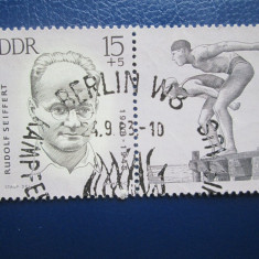 TIMBRE GERMANIA DDR STAMPILATE