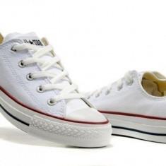 Converse All Star clasic - Tenisi barbati Converse, Marime: 36, 37, 38, 39, 40, 41, 42, 43, 44, Culoare: Alb, Textil