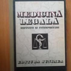 e4 Medicina Legala - definitii si interpretari - Coord. Teodor Ciornea