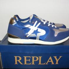 Adidasi Replay Parkrose Yuko Trainers nr. 44 - Adidasi barbati Replay, Culoare: Din imagine, Textil