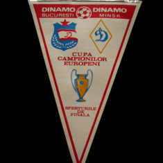 MCFA - FANION - DINAMO - DINAMO BUC - DINAMO MINSK - CCE - 21 MARTIE 1984