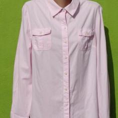 Camasa roz Tommy Hilfiger 100% originala - Camasa dama Tommy Hilfiger, Marime: L/XL, Maneca lunga, Casual, Bumbac