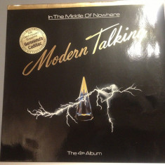 MODERN TALKING - IN THE MIDDLE OF NOWHERE (1986/HANSA/RFG ) -Vinil/Impecabil(NM) - Muzica Pop ariola