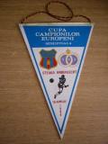 MCFA - FANION - STEAUA BUCURESTI - SCA ANDERLECHT - CCE - 16 APRILIE 1986
