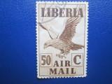 TIMBRE  LIBERIA STAMPILAT
